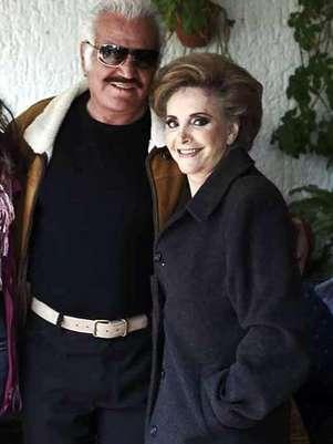 Vicente Fernández y Cuquita Abarca se casaron en 1963 en Huentitán. Foto: Reforma