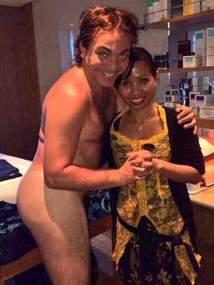 Castro explica a qué hacía referencia cuando habló en la foto del'saiote'. Foto: Twitter