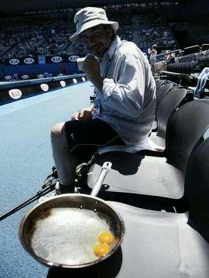 Esta es la imagen que Tsonga subió a su Twitter Foto: Twitter @Tsonga7