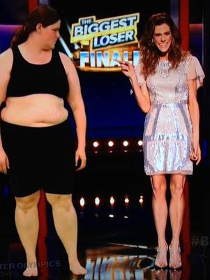 Antes y después deRachel Frederickson. Foto: Still 'Biggest Loser'