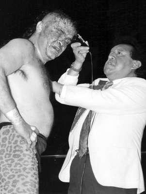La Fiera fue uno de los protagonistas de Homenaje a Dos Leyendas al enfrentar en duelo de cabelleras a Silver King en la Arena México. Foto: Cortesía CMLL