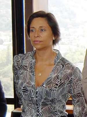 Carolina Echeverría en imagen de archivo Foto: UPI