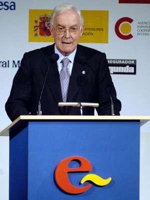 El director de la Real Academia Española Victor García de la Concha. Foto: AFP
