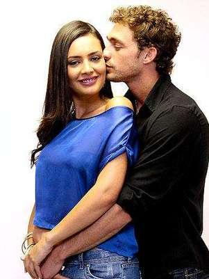 Dominique y Joche ingresan al reality.  Foto: Agencia Uno  / Terra