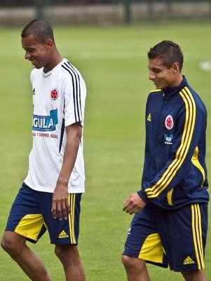 Con trabajaos de recuperación inició el microciclo programado por José Pekermán al frente de la selección Colombia. 16 jugadores del fútbol colombiano estuvieron presentes en el primer entrenamiento, que se llevó a cabo en el estadio de Techo en Bogotá. Foto: David Felipe Rincón / Terra