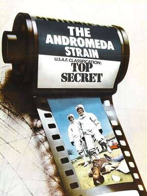 'La Amenaza de Andrómeda', o el fin del mundo como uno de los pilares de la ciencia ficción moderna... más o menos. Foto: Universal Pictures