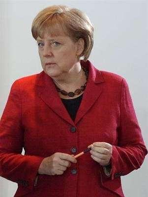 Angela Merkel (Agencia: EFE) Foto: Telefónica de España, SAU