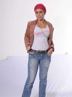 Diana Lucía Mesa es la imitadora de Paloma San Basilio. Foto: Prensa.