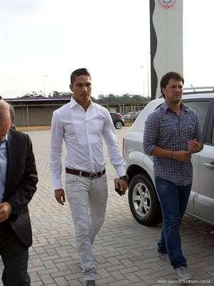 Paolo Guerrero será presentado esta tarde como nuevo refuerzo del Corinthians Foto: Corinthians Club