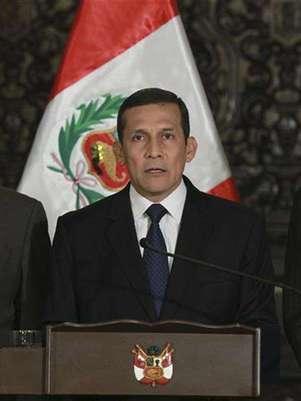 Presidente de Perú, Ollanta Humala. Foto: Handout Imagen para uso no comercial, ni ventas, ni archivos. Solo para uso editorial. No para su venta en marketing o campañas / Reuters