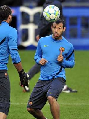 Mascherano warms up for the season with a new contract.  Foto: Getty Images