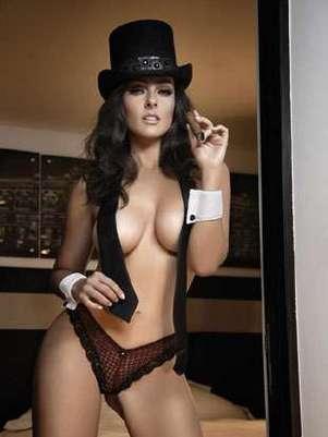 La hija de Andrés García vuelve a posar en poca ropa pero ahora para Playboy. Foto: H Extremo
