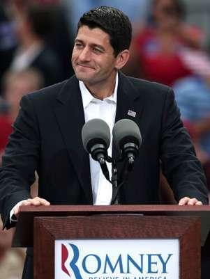 Paul Ryan, compañero de fórmula por el candidato republicano a presidente de EE.UU. Mitt Romney. Foto: Getty Images