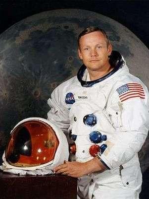 Neil Armstrong. Foto: Nasa