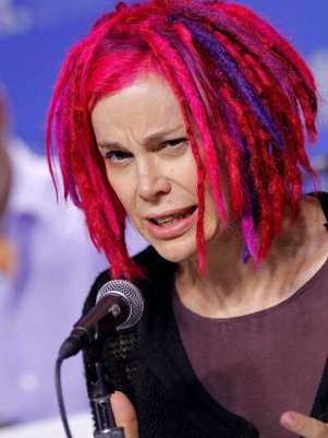 "Lana Wachowski, antes Larry Wachowski, director de ""Matrix"". Foto: Getty"