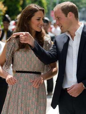 Los duques de  Guillermo y Catalina se encuentran de gira en distintos países en representación de la reina Isabel II con motivo de su jubileo.  Foto: AP
