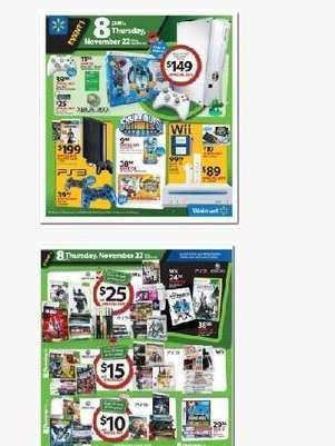 Wal-Mart ya está tentando a los consumidores con sus ofertas de 'Black Friday' Foto: Wal-Mart