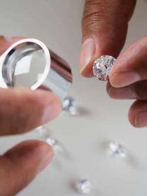Los diamantes fueron valuados en unos 2,3 millones de dólares. Foto: Getty Images