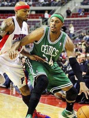 Pierce sufrió una pequeña lesión en el tobillo. Foto: AP