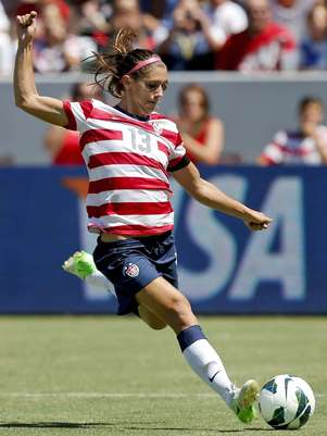 Alex Morgan and the rest of her U.S. teammates will be playing in a third women's pro league in the States. Foto: AP in English