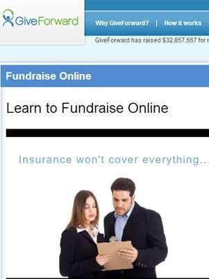GiveForward, sitio de crowdfunding. Foto: Reproducción