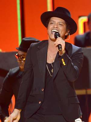 Bruno Mars performs at the 55th annual Grammys on February 10, 2013. Foto: Getty Images