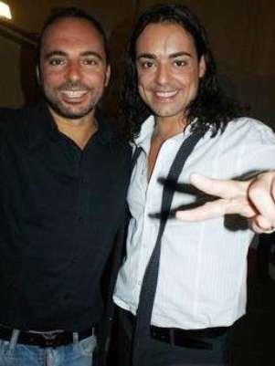 Jordi Llunas junto a su hermano Marcos. Foto: Internet