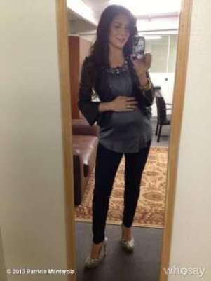 Patricia Manterola felizmente embarazada  Foto: @pattymanterola