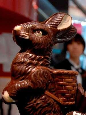Delicioso conejo de chocolate, el toque dulce de la pascua Foto: EFE en español