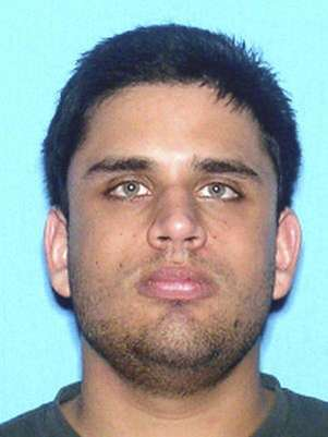 James Seevakumaran is pictured in this handout photo courtesy of The University of Central Florida Police Department. Foto: UCF Police / Reuters