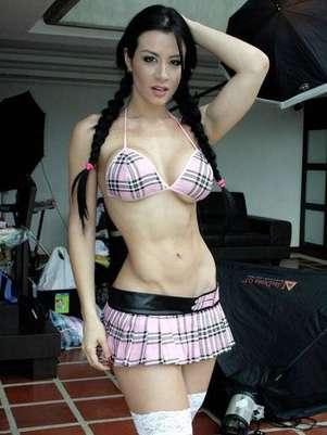 Diosa Canales encontró en Pablo Montero un trampolín para triunfar en México. Foto: Twitter