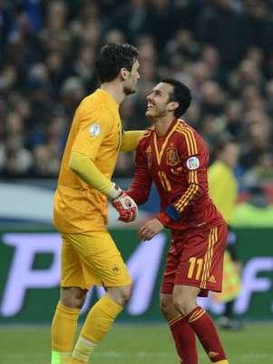 Francia y España se juegan en el estadio Saint-Denis el primer puesto en el Grupo de clasificación para el próximo Mundial de Brasil 2014 Foto: Getty Images