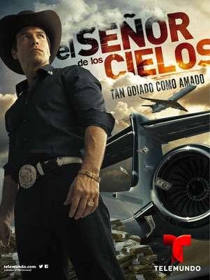 'El Señor de los Cielos' sigue la brecha abierta por telenovelas como 'La Reina del Sur' y 'Pablo Escobar: El Patrón del Mal'. Foto: Telemundo