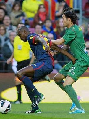 Abidal ha jugado todo el partido Foto: EFE en español