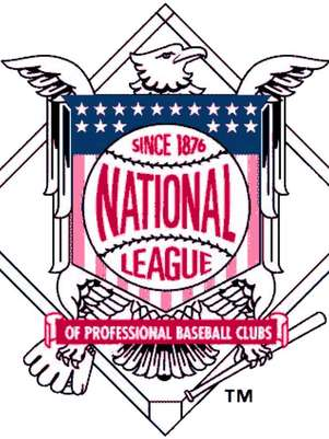 Logo de la National League of Professional Base Ball Clubs, la hoy conocida como Liga Nacional Foto: Divulgación Internet