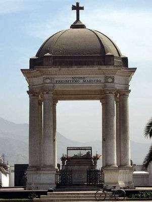 Presbítero Maestro. Foto: Museo Cementerio Presbítero Maestro / Facebook