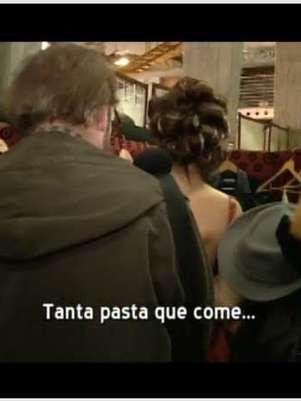 Escena que humillan a la candidata. Foto: Canal 13