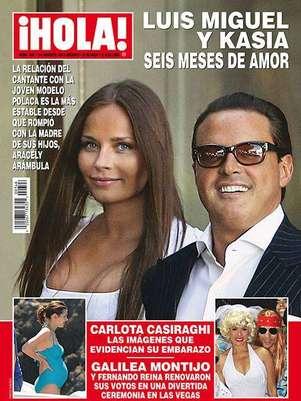 Luis Miguel y Kasia viven su amor Foto:  ¡Hola! México