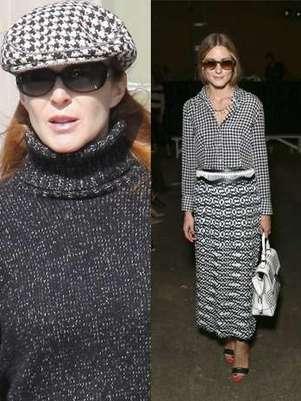 Es otro de los tejidos tendencia y muchas de nosotras no sabemos cómo lucirlo. Las celebrites nos enseñan quince maneras diferentes de sacar a flote el tejido de moda. Foto: Gtres