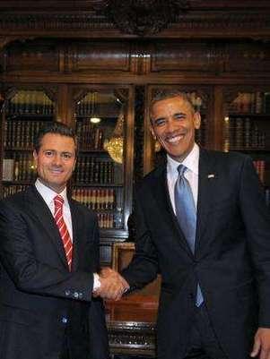 Barack Obama, visitará México por quinta ocasión este 19 de febrero, para participar en la Cumbre de Líderes de América del Norte en la ciudad de Toluca, Estado de México.  Foto: EFE en español