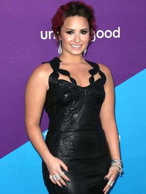 Lovato le reclamó por Twitter a la cantante pop que tratara de banalizar la bulimia. Foto: Getty Images
