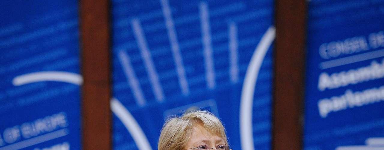 Michelle Bachelet - La expresidenta chilena y directora ejecutiva de la ONU-Mujeres  participará en diversas actividades sobre cuestiones de género que se realizarán en el marco de la conferencia Río+20.