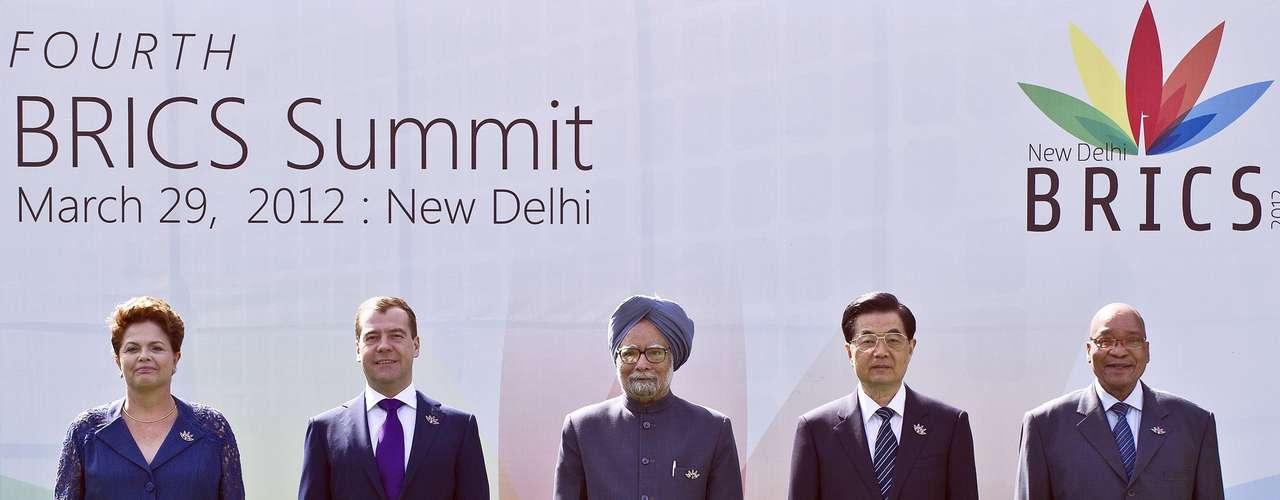 BRICS - Los países que forman el grupo de economías emergentes conocido como BRICS (Brasil, Rusia, India, China y Sudáfrica) confirmaron su presencia en la conferencia de las Naciones Unidas sobre el Desarrollo Sostenible Río+20.