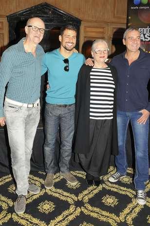 ... telenovela brasileña en Luna Park en Buenos Aires el 7 de julio