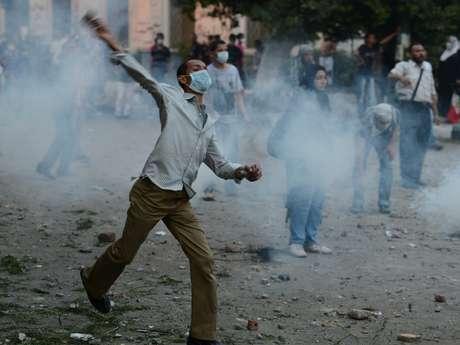 Cientos de manifestantes atacaron la embajada de Estados Unidos en Cairo. La situación en el Medio Oriente puso en jaque a la administración del presidente Obama. Foto: Getty Images