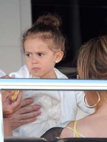 Emme también fue parte de la lista de los hijos de famosos más influyentes del 2011, pero llegó en el puesto número 17.