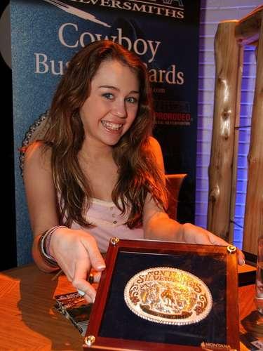 Miley en Las Vegas, en el 2006.