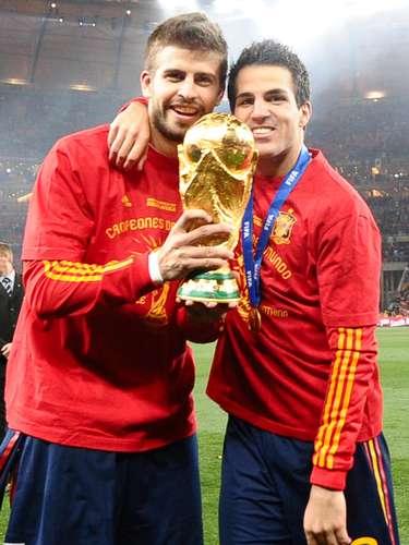 El 11 de julio de 2010, Gerard Piqué y la demás selección española se conviertieron en los campeones del mundo al ganar el mundial de fútbol de Sudáfrica.