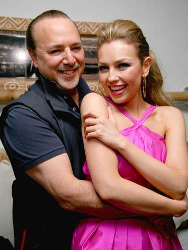 Thalía & Tommy Mottola. The Mexican entertainer and the Sony mogul have been married for 13 years, have children together and in recent time have been rumored to be on the way to divorce.