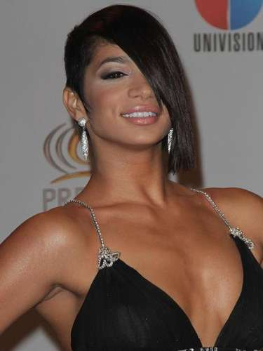 Tatiana Delgado showing some skin on the red carpet.